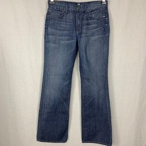 7 for all Mankind Womens Bootcut Jeans SZ 30 Blue
